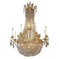Antique Baccarat Chandelier Russian Empire Style Baccarat Chandelier For Sale At 1stdibs