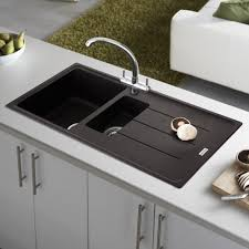 Kitchen Sinks With Drainboards How To Clean Plastic Kitchen Sink With Drainboard Modern Kitchen