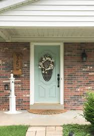 House With Front Porch by Front Porch Makeover With Behr 100 Giveaway Shades Of Blue