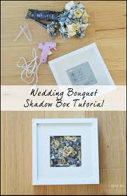 wedding wishes keepsake shadow box diy wedding bouquet shadow box bouquet shadow box shadow box