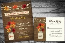 fall wedding invitations 22 gorgeous fall wedding invitations ideas style motivation