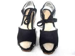 ugg sale wedges black ugg 1652 mar womens sandals sale 78 lrg jpg