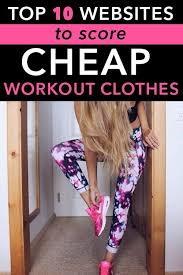 rcheap clothes for women the top websites to score cheap workout clothes top websites