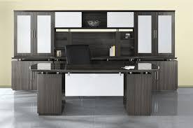 High End Computer Desk Sterling Series High End Executive Office Furniture Set