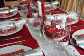 red and silver christmas table settings stylish ideas to dress up your christmas dinner table on a budget