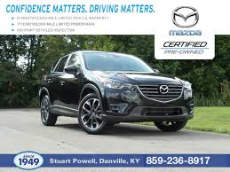 mazda automatic used 2016 mazda cx5 gr touring fwd automatic for sale danville ky