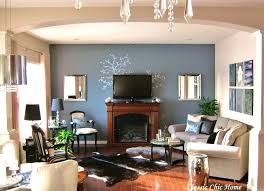 Living Room Furniture Arrangement With Fireplace Narrow Living Room With Fireplace At One End How To Decorate