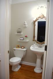 Powder Room Makeovers Photos - lively green door powder room makeover reveal