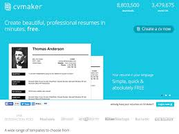 Make Resume Online Free by Fifteen Free Websites To Create An Inspiring Resume