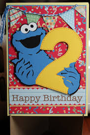 chocolate and crafts birthday card for xander