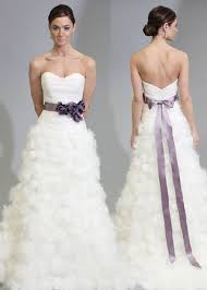 white wedding dresses the wedding inspirations white wedding dresses with purple