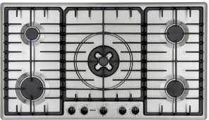 Bosch Cooktops Bosch Pgl985uc 36 Inch Gas Cooktop With 15 500 Btu Tripleflame