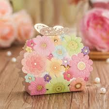 butterfly party favors wedding favors and gifts box flower butterfly favor boxes laser