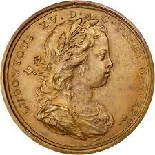 chambre du commerce rouen 62866 louis xv médaille création de la chambre de commerce de