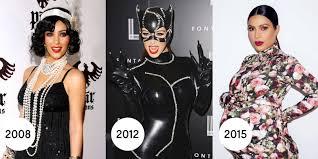 Kardashian Family Halloween Costumes Ellen Degeneres Kelly Ripa And More Stars As Kim Kardashian For