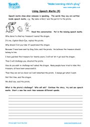 using speech marks 3 teach my kids