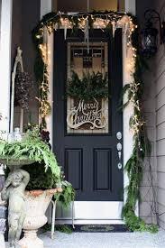 Front Door Decoration Ideas Top 40 Christmas Door Decoration Ideas From Pinterest Christmas