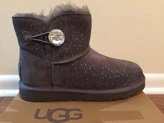 womens boots size 8 9 ebay ugg australia s boots mini bailey bow corduroy chestnut size