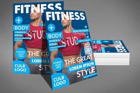 fitness flyer template fitness flyer template by sanaimran design bundles