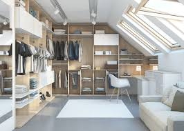 light loft walk in wardrobe solution in acacia wardrobes paolo