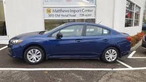 2017 subaru impreza sedan blue used 2017 subaru impreza for sale vestal ny