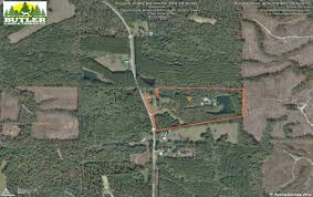 aerial maps pigeon creek tract with house land for sale greenville