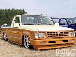 subaru mini truck lifted sittin u0027 pretti summer slam 17 custom truck shows mini truckin
