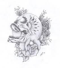 skull tattoo design by dirtbag star on deviantart