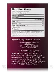real tea organic hip hibiscus tea bags box of 24 packets