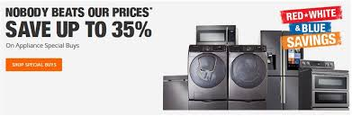 home depot early black friday sale dirt devil home depot red white and blue savings save up to 35 off major