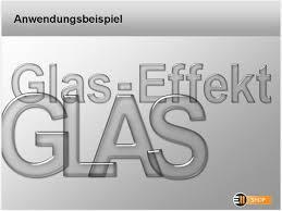 schrift design design schrift mit glas effekt e11help