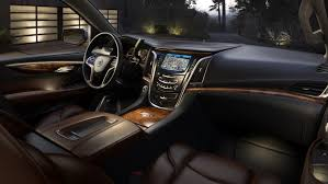 2015 luxury trucks inside the 2015 cadillac escalade u2013 news u2013 car and driver car