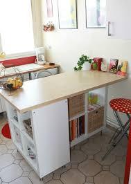 fabriquer table haute cuisine fabriquer un bar de cuisine newsindo co