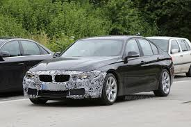 bmw f30 3 series lci facelift prototype spotted