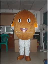 Coconut Halloween Costume Coconut Orange Durian Fruit Cartoon Dolls Mascot Costumes Props