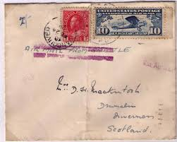 postal history corner international air mail letter rates part 1