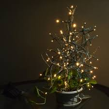 Solar White Christmas Lights by 17m 100 Led Solar Outdoor Garden Lamp White Fairy String Light