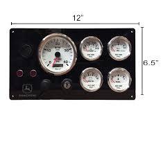 john deere diesel marine instrument panel white gauges u2013 ac dc