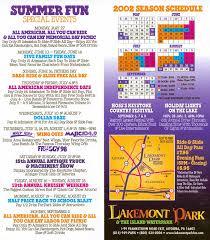 Lights On The Lake Lakemont Park Theme Park Brochures Lakemont Park Theme Park Brochures