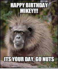 Mikey Meme - happy birthday mikey its your day go nuts wwwfunnypicamermees com