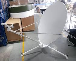 B And M Table And Chairs 1 2m Ku Band Carbon Fiber Manual Flyaway Antenna