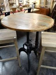 Reclaimed Wood Bistro Table Dining Table Set For 2 Bistro Bistro Set Indoor And Bar