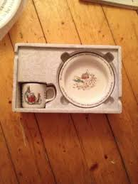 rabbit nursery set by wedgwood rabbit nursery set by wedgwood excellent condition and boxed