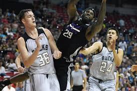 milwaukee bucks fan pack wisconsin basketball milwaukee bucks waive former guard bronson