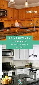 can i paint my kitchen cabinets without sanding how to paint kitchen cabinets without sanding or priming