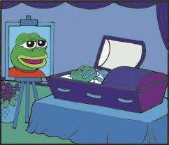 Pepe Meme - alt right meme pepe the frog laid to rest over the weekend will