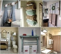 15 cool diy towel holder ideas for your bathroom towel holders for Small Bathroom Ideas Diy