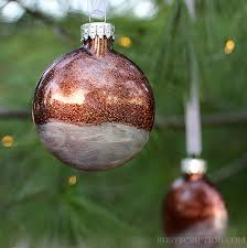 easy glitter filled frosted ornaments rosyscription