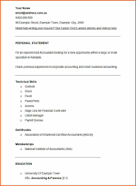 Accounting Resume Sample 7 Accountant Resume Template Download Budget Template Letter