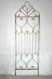 wrought iron princess trellis plant support